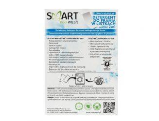 Smart Eco Wash – listki doprania 2 w1, bezzapachowe (40 prań)
