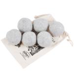 Smart Wash - wełniane kule do suszarek na pranie 6 szt. szare