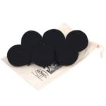 Smart Wash - wełniane kule do suszarek na pranie 6 szt. czarne